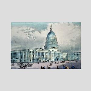 United States Capitol, Washington, D.C. - 1872 Mag