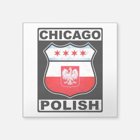 Chicago Polish American Sticker