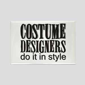 Costume Designers do it in St Rectangle Magnet