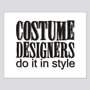 Costume Designers do it in St Small Poster