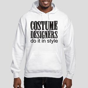 Costume Designers do it in St Hooded Sweatshirt