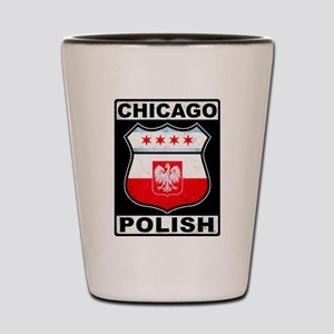 Chicago Polish American Shot Glass