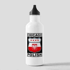 Chicago Polish American Water Bottle
