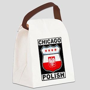 Chicago Polish American Canvas Lunch Bag