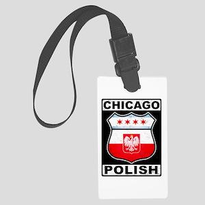 Chicago Polish American Luggage Tag