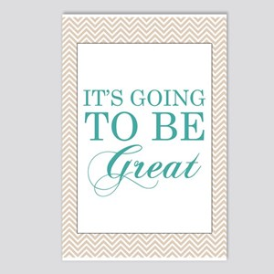 Its Going To Be Great Postcards (Package of 8)