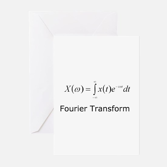 Fourier Transform Greeting Cards (Pk of 10)