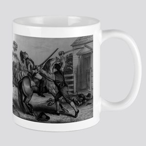 A patriot of 1776 defending his homestead - 1876 1