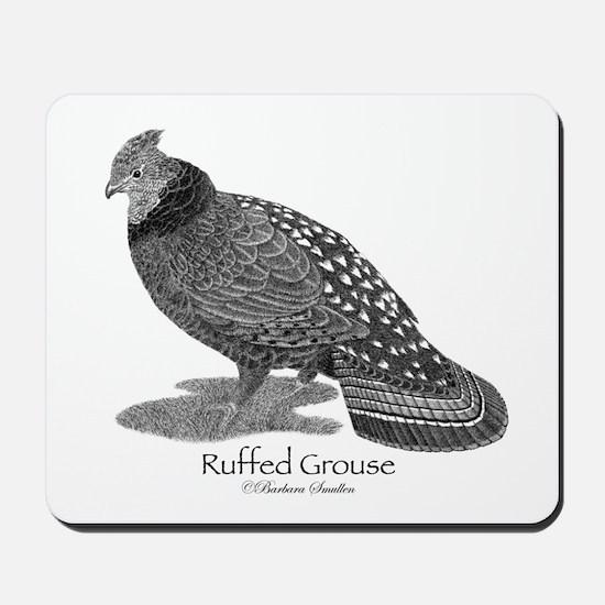 Ruffed Grouse Mousepad