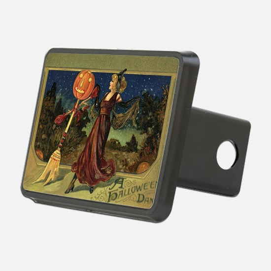Vintage Halloween Dancing Hitch Cover