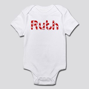 Ruth - Candy Cane Infant Bodysuit
