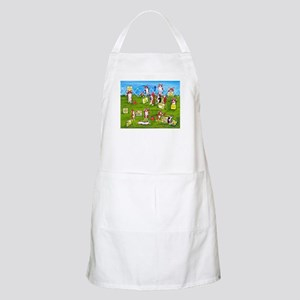 Rally O No! BBQ Apron