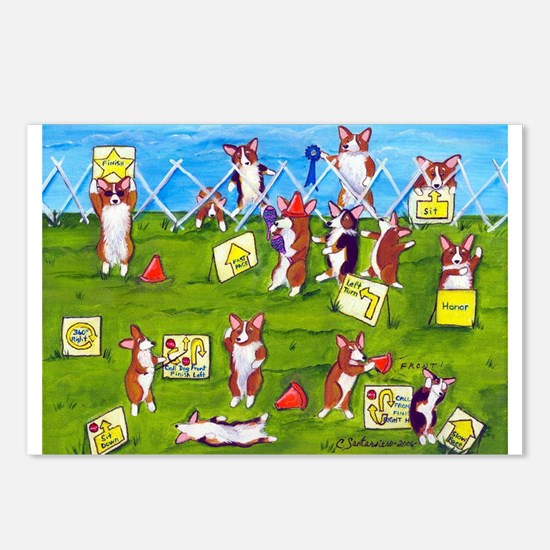 Rally O No! Postcards (Package of 8)