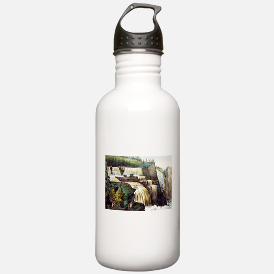 Trenton Falls, New York - 1856 Water Bottle