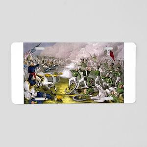 Battle of Buena Vista - 1847 Aluminum License Plat