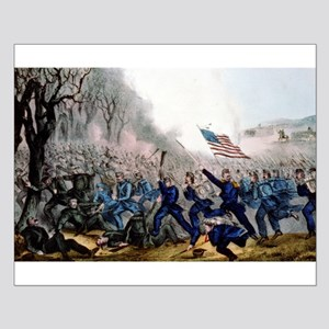 Battle of Mill Spring, Ky - 1862 Small Poster