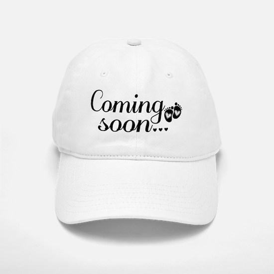 Coming Soon - Baby Footprints Baseball Baseball Cap