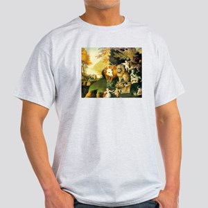 PEACEABLE KINGDOM Ash Grey T-Shirt