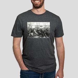 Battle of Pittsburgh, Tenn - 1862 Mens Tri-blend T
