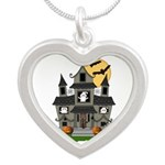 Halloween Haunted House Ghosts Necklaces