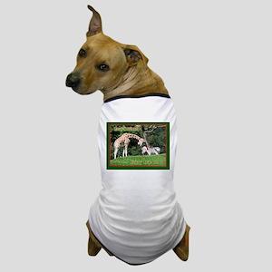 Helaine's Giraffe/Zebra Chris Dog T-Shirt