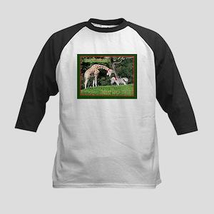 Helaine's Giraffe/Zebra Chris Kids Baseball Jersey