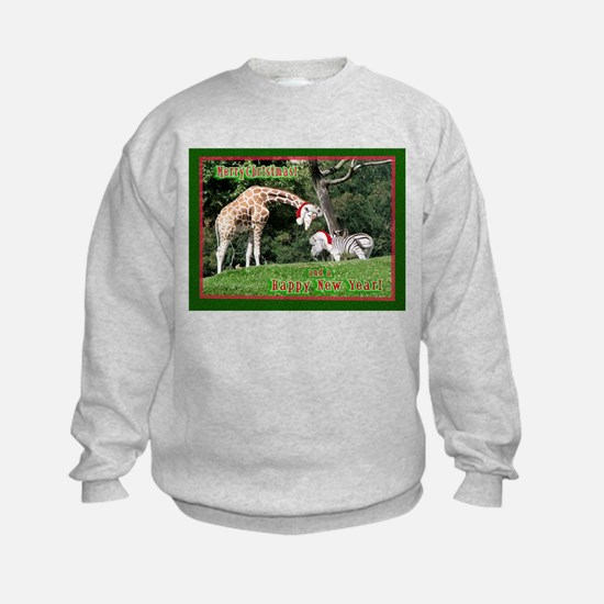 Helaine's Giraffe/Zebra Chris Sweatshirt