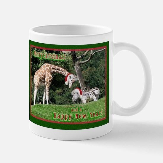Helaine's Giraffe/Zebra Chris Mug