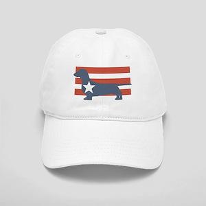 Patriotic Dachshund Cap