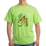 Abstract Nada Green T-Shirt