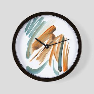 Abstract Nada Wall Clock
