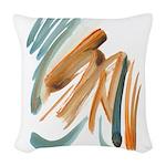 Abstract Nada Woven Throw Pillow