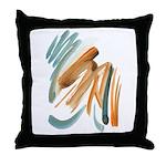 Abstract Nada Throw Pillow
