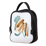 Abstract Nada Neoprene Lunch Bag