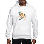 Abstract Nada Hooded Sweatshirt