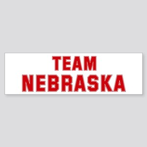Team NEBRASKA Bumper Sticker