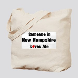 New Hampshire Loves Me Tote Bag