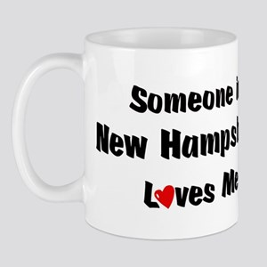 New Hampshire Loves Me Mug