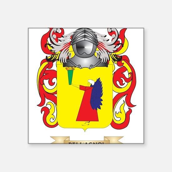 Del Bello Coat of Arms Sticker