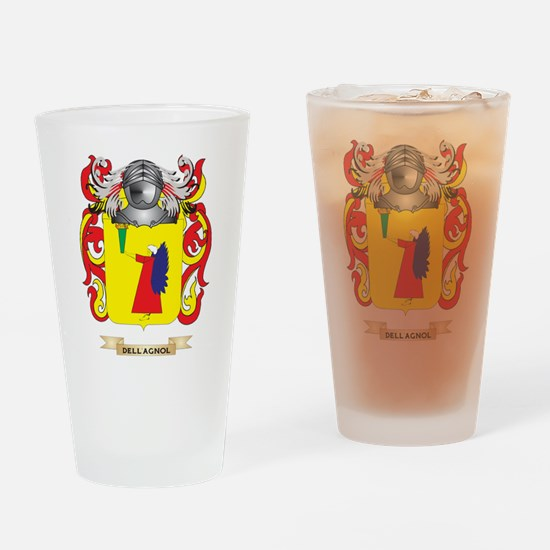 Del Bello Coat of Arms Drinking Glass