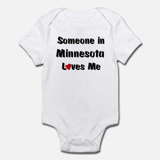 Minnesota Loves Me Infant Bodysuit