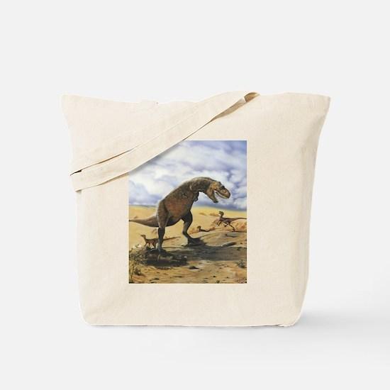 Dinosaur T-Rex Tote Bag