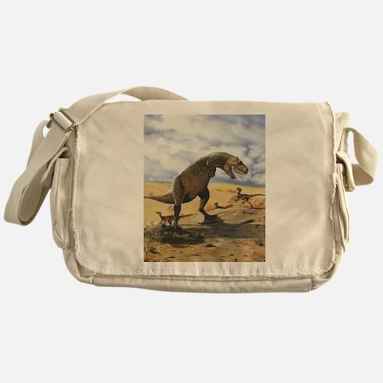 Dinosaur T-Rex Messenger Bag