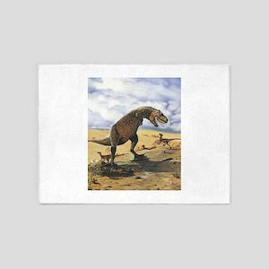 Dinosaur T-Rex 5'x7'Area Rug