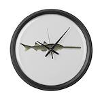 Sawfish Large Wall Clock