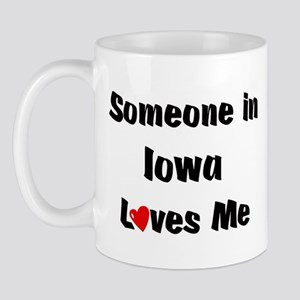 Iowa Loves Me Mug