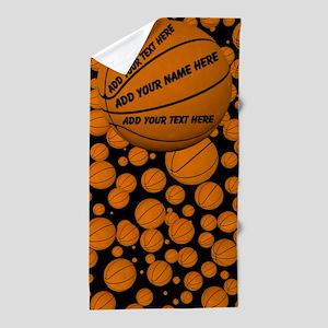 Basketball Beach Towel