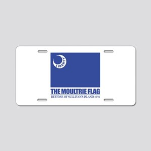Moultrie Flag Aluminum License Plate