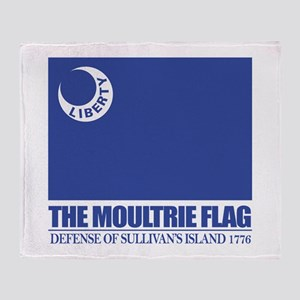 Moultrie Flag Throw Blanket