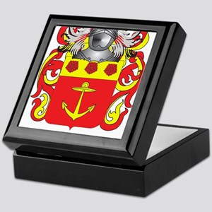 D'Elia Coat of Arms Keepsake Box